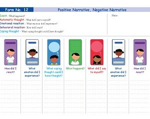 Form No. 12 - Positive Narrative, Negative Narrative