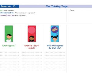 Form No. 13 - The Thinking Traps